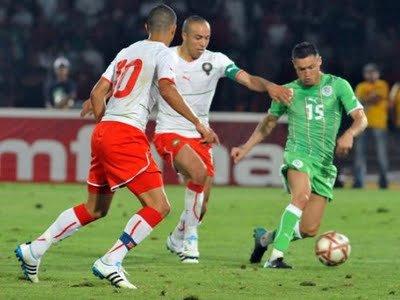 Maroc  4 - 0  Alg�rie