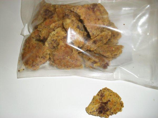 Biscuits pour chiens (sans gluten)