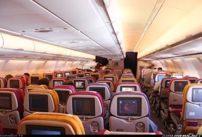 Thai pleins d 39 avions et surtout des 747 de corsairfly for Interieur 747 corsair