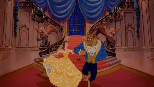 De toutes les princesses Disney   laquelle pr  233 f  233 rez-vous  Disney Beauty And The Beast Ballroom