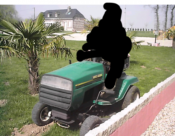 tracteur tondeuse vert loisir 1236 thibaut grancher. Black Bedroom Furniture Sets. Home Design Ideas