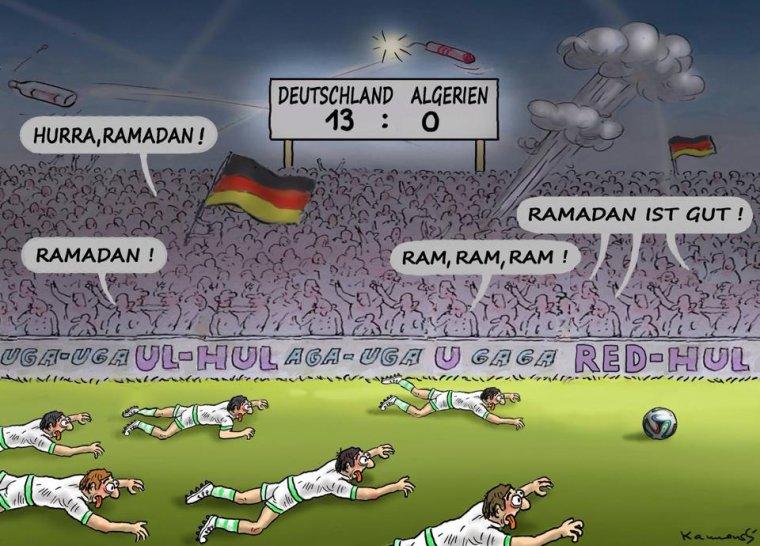 Huiti mes de finale coupe du monde 2014 allemagne alg rie pas de ramadan pour l 39 alg rie - Algerie allemagne coupe du monde 2014 ...