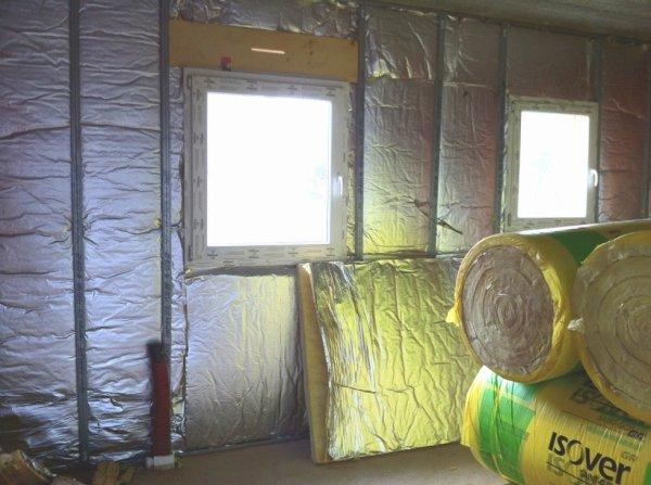 Isolation for Laine de verre sans pare vapeur 100 mm