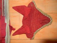 Tapis scapa rouge + bonnet