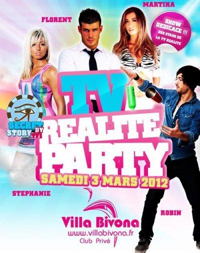St�phanie et Robin � la Villa Bivona le 3 mars