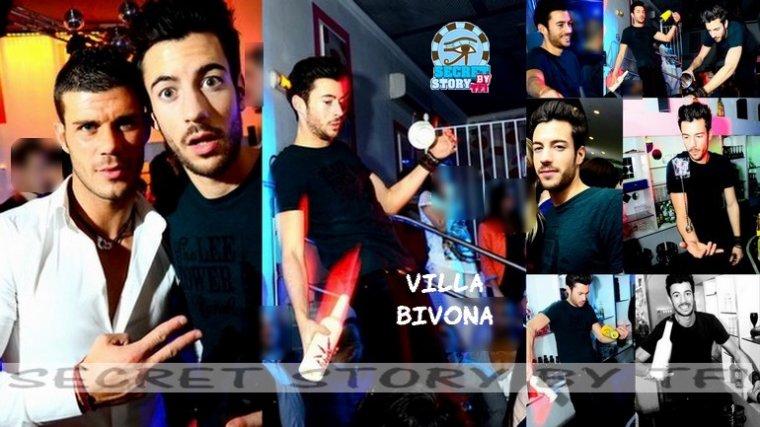 Robin � la Villa Bivona le 3 mars