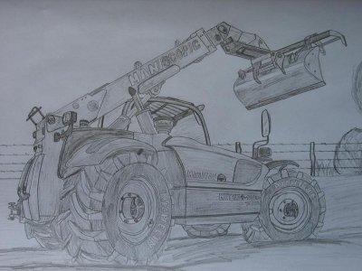 Dessin blog de jerem50189 - Image de tracteur a colorier ...