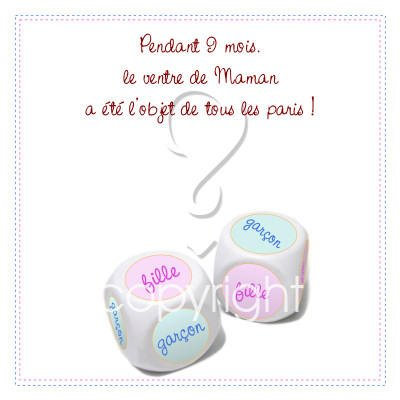 Fille ou gar on blog de ma grossesse bebe1 for Tableau fille ou garcon