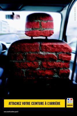 Parce que le port de la ceinture est obligatoire la s curit routi re est une affaire de tous - Port de la ceinture obligatoire ...