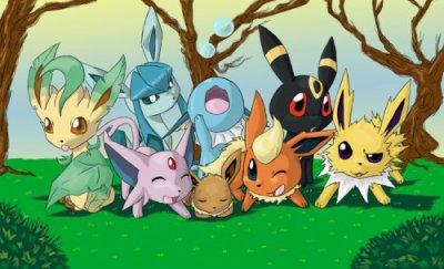 Blog de evoli evolutions blog de evoli evolutions - Famille evoli pokemon ...