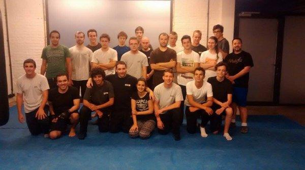 American Gym d'Ixelles , mardi 16 septembre 2014