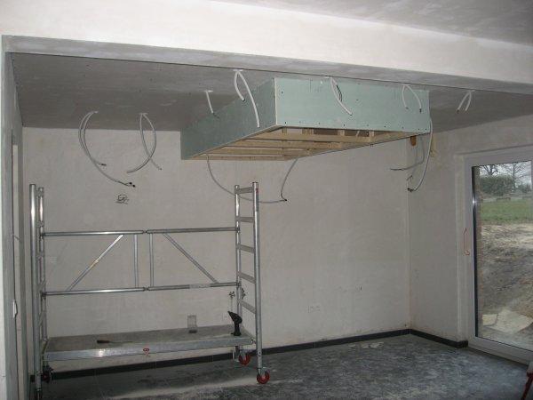 Faux plafond de la cuisine et photovolta ques blog de virginie thierry Faux plafond cuisine