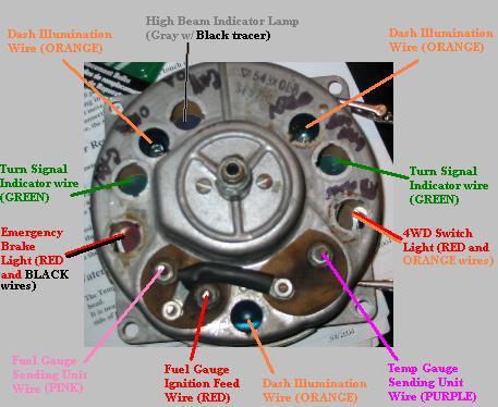 Jeep CJ7 Speedometer Wiring - Jeep CJ7