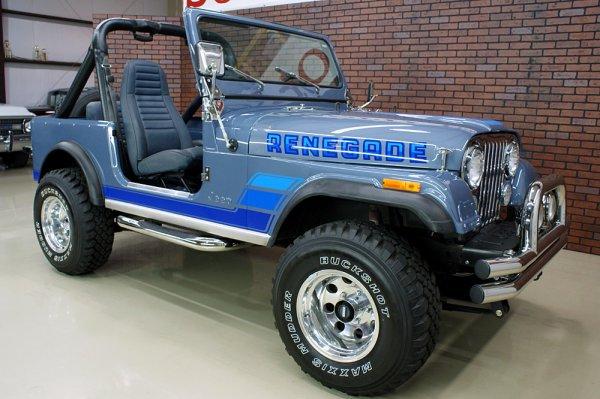 1983 Jeep Renegade Jeep Cj7