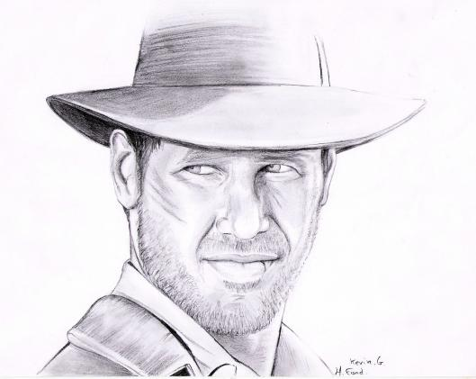 Indiana jones dessins et peintures - Coloriage indiana jones ...