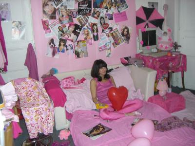 Ma chambre toute rose le blog officiel de k laury - Chambre toute rose ...
