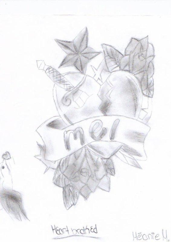 Coeur bris blog de sk8 melane dessin - Dessin de coeur brise ...
