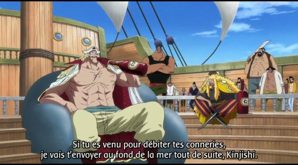 Rencontre shanks barbe blanche
