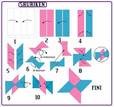 shuriken c un des plu simple blog de origamidu59