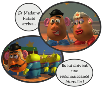 Monsieur patate blog de toy story2 - Madame patate toy story ...
