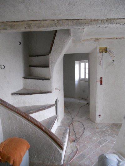 r novation maison de village saint paul de vence pruvost peinture. Black Bedroom Furniture Sets. Home Design Ideas