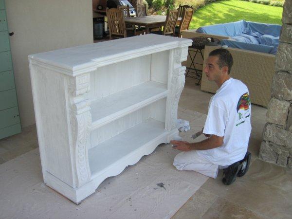 Peinture meuble pruvost peinture for Peinture acrylique meuble