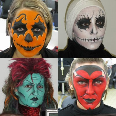 Maquillage halloween adultes diable by me blog de for Comidee maquillage halloween adulte