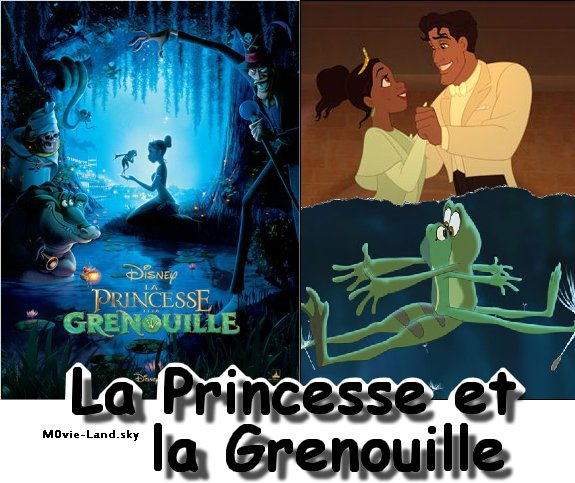 Dessin Anim� :  La Princesse et la Grenouille ► 2010 ◄