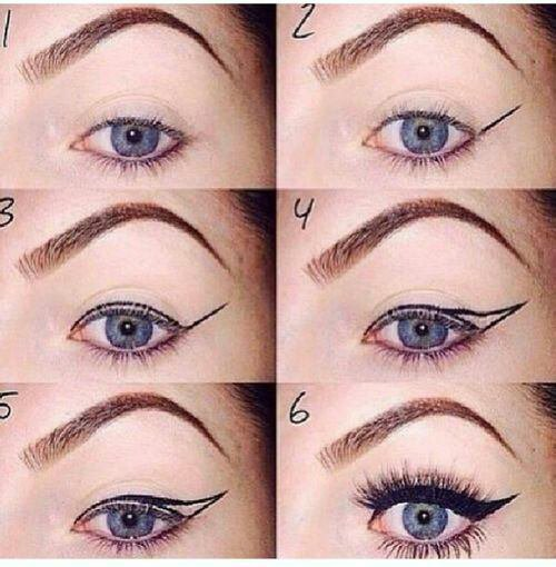 comment mettre eye liner