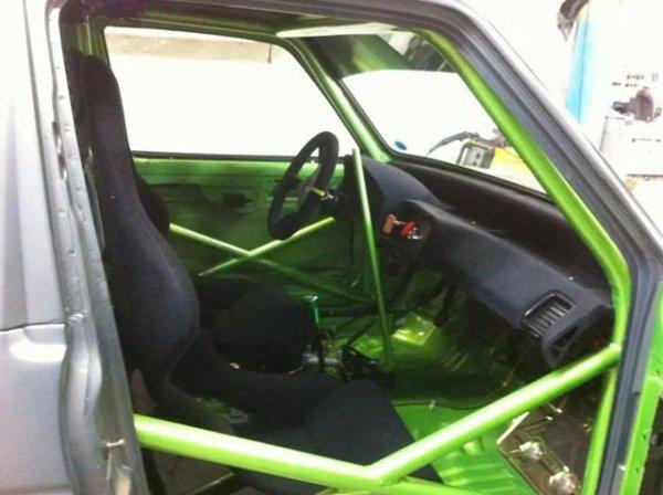 """le """"Caddic rs"""" de JC's garage (caddy moteur honda) finis..."""
