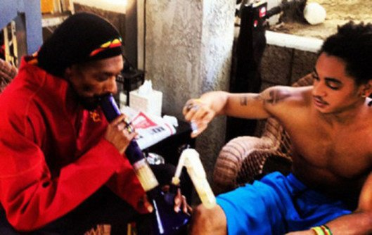 Snoop Dogg fume avec son fils