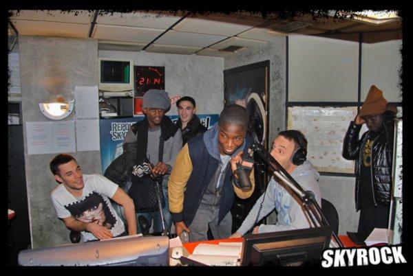 La sexion d'assaut et St�phane Bak dans la Radio Libre