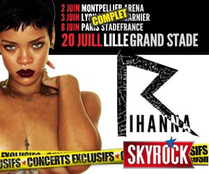 [ CONCERT ] Rihanna, une date en plus le 20 juillet au Grand Stade de LILLE ! #DWT