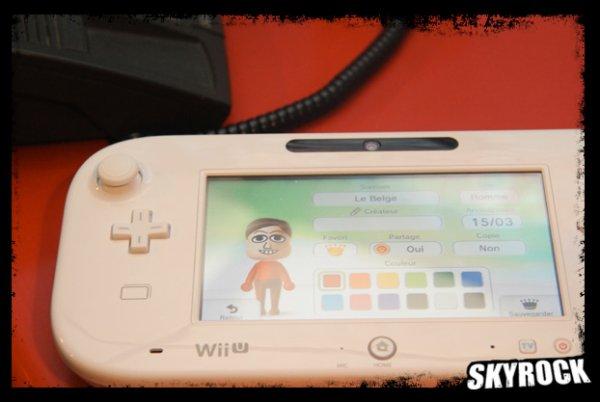 Les membres de l'�quipe en personne Mii (Wii U)
