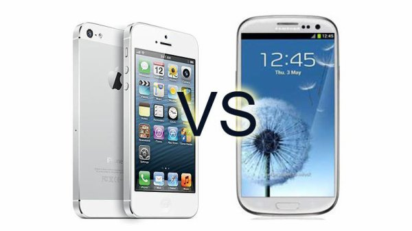 Plut�t Galaxy S4 ou iPhone 5S ?
