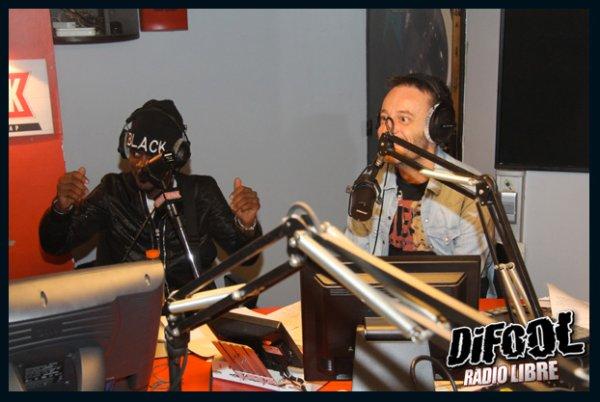 Black M dans la Radio Libre de Difool !