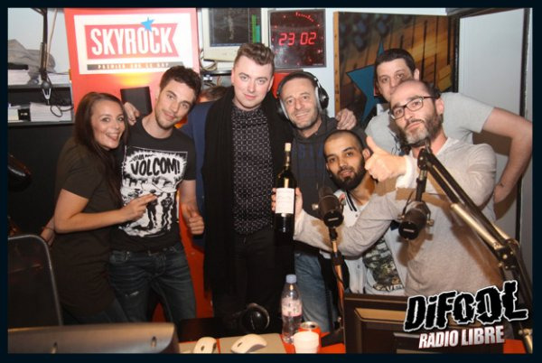 Sam Smith dans la Radio Libre !!!