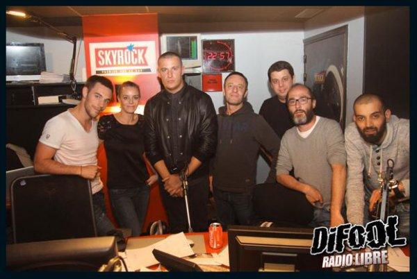 DJ Snake avec Difool et l'�quipe