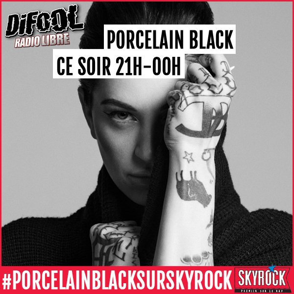 L�che ta question pour PORCELAIN BLACK ici !