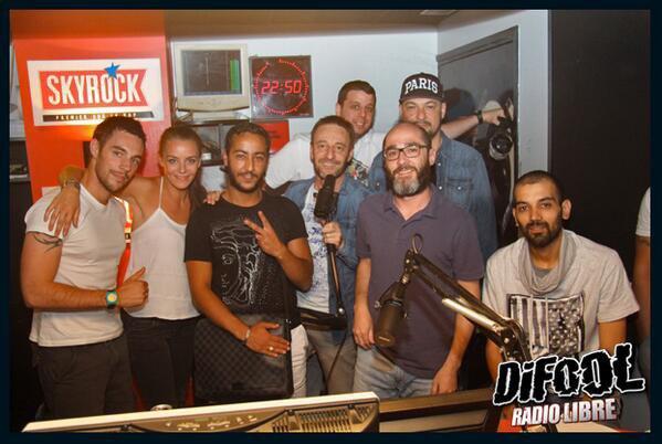 LACRIM  avec la team de la Radio Libre !
