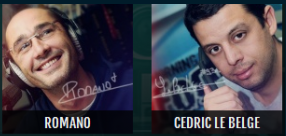 Tu votes Romano ou C�dric pour le clash de la drague, ce soir??