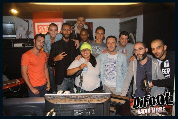 Grosse soir�e dans la Radio Libre avec La Fouine et Aissa Mandi