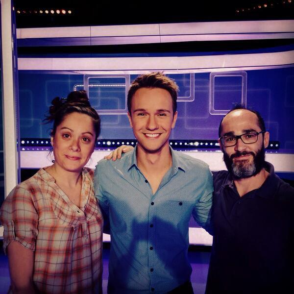 Romano lors de son passage dans l'�mission #Slam sur France 3, avec Cariole ! #RadioLibreDeDifool