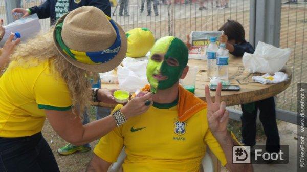Les photos de l'avant match Br�sil Allemagne suite