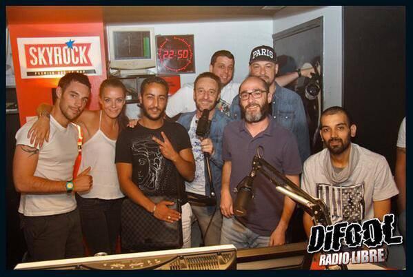 C'est reparti pour une nouvelle saison avec la Radio Libre de Difool  [ 21h -00h] Romano, Marie, C�dric Le Belge, Samy, Karim, Momo et vous tous !!