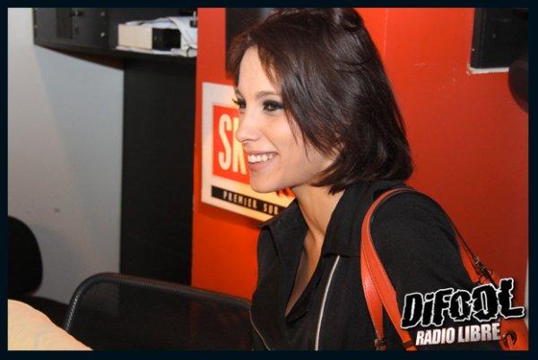 Petite visite surprise de Nikita Bellucci dans la Radio Libre !