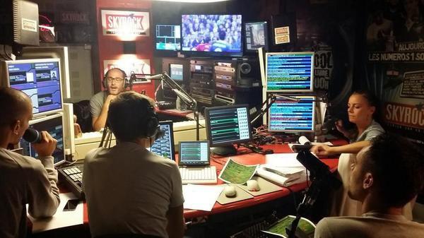 Toute l'�quipe de la Radio Libre de Difool en mode France-Espagne !