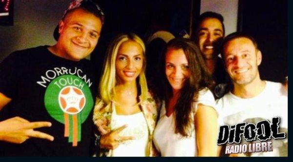 Dj Hamida, Kayna Samet et L'Artiste dans la Radio Libre de Difool !