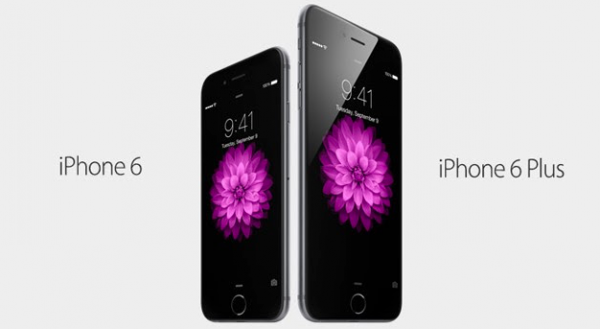 Voici la photo de l'Iphone 6 et l'Iphone 6 plus !