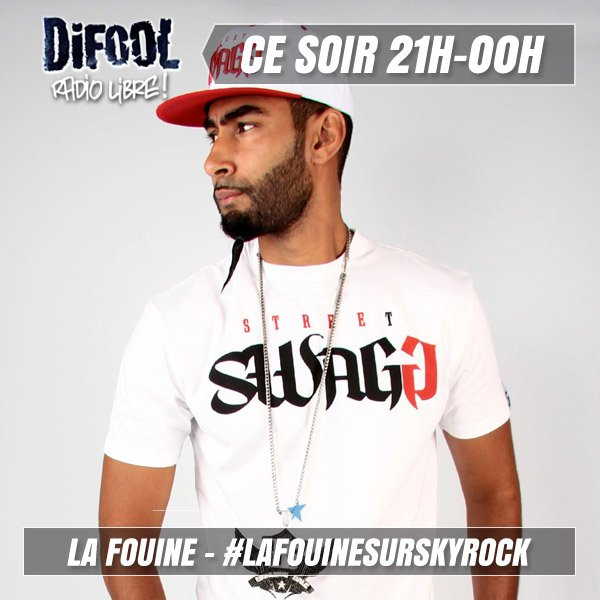 Ce soir, Difool re�oit La Fouine en direct !